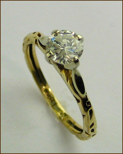 14k .5 ct. Diamond Solitaire Ring 880-4248