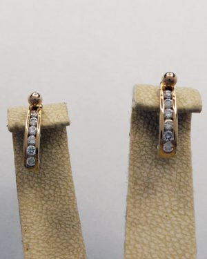 18K Diamond Jackets 1/2 ct tw
