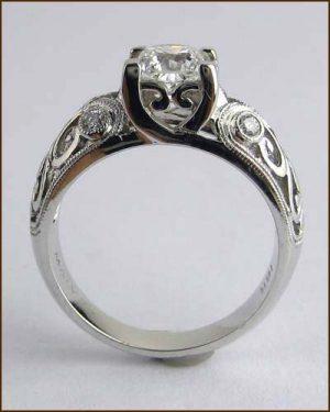 18k 1 ct. Dream Diamond Ring side