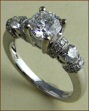 18k Emphasis Engagement Ring