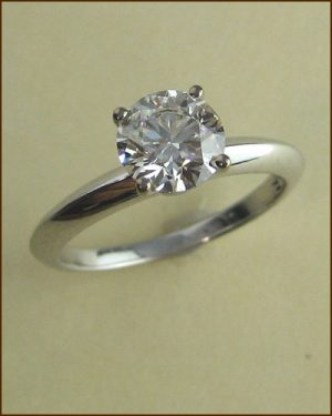 18k Insignia 1.18 ct. Solitaire Ring