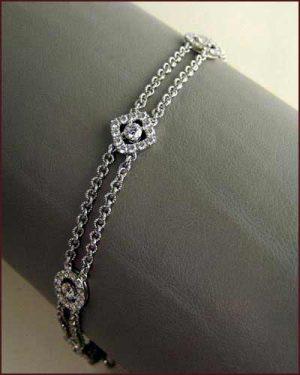 18k Whimsical Multi Shape Bracelet 894-472