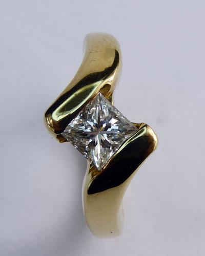 .80 ct. Princess Cut Diamond Ring 880-4016