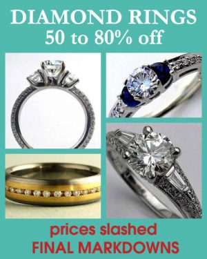 Diamond Rings & Jewelry