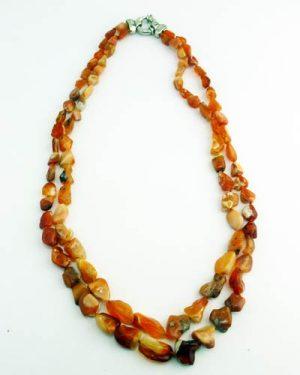 Gem Quality Fire Opal Necklace 810-990