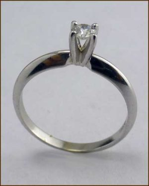 Hearts on Fire .15 ct. Solitaire 891-812 side