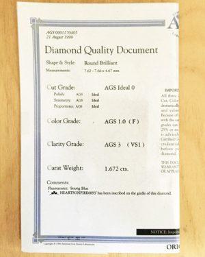 Hearts on Fire 1.67 ct Diamond 892-583 doc