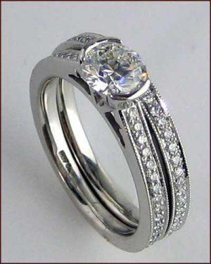 Identity Millegrain Wedding Set 891-502