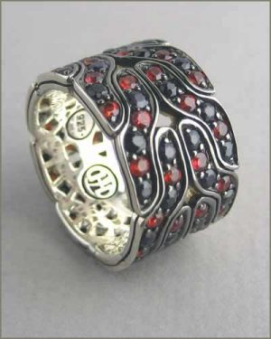 Naga Silver Fire Colorway Band 884-2721