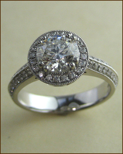 Platinum Significance Diamond Ring