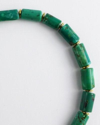 Silver Turquoise Bracelet B1803 detail