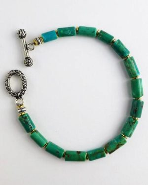 Silver Turquoise Bracelet B1803