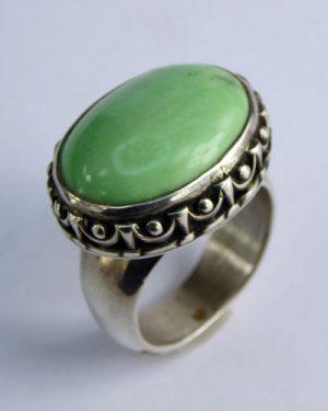 Sterling Silver Variscite Ring