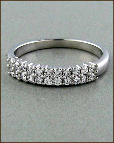 Truly Bridal Double Row Band 891-840