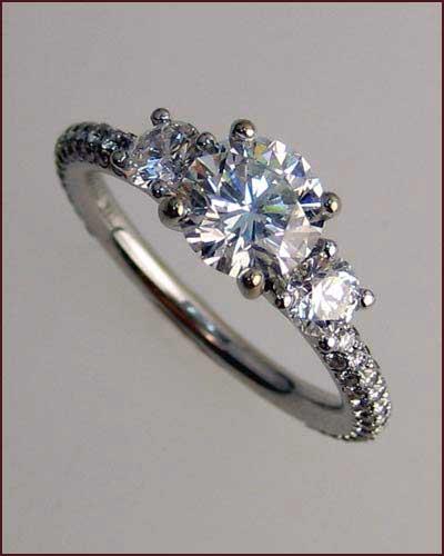 Tycoon 18k Diamond Ring , 2.03 ct