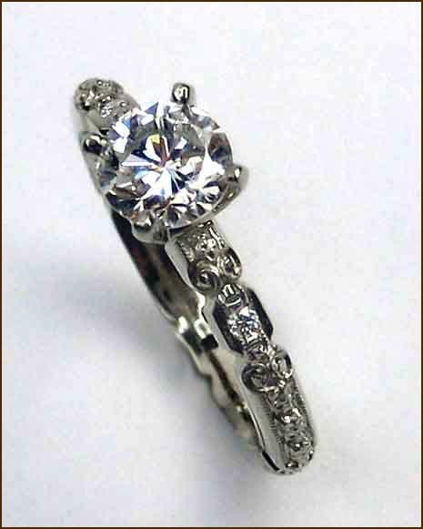 Van Craeynest 18k Diamond Ring
