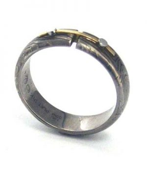 Grey george sawyer ring