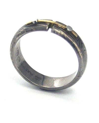 Grey george sawyer ring