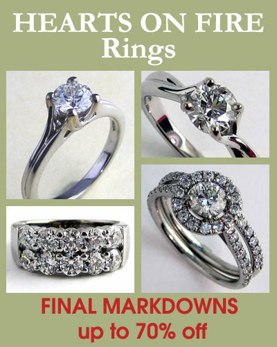 Hearts On Fire - Rings