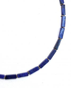 Silver Lapis Lazuli Necklace